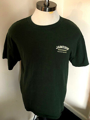 Jameson Irish Whiskey Men's / Adult T-Shirt Sz Large - Green