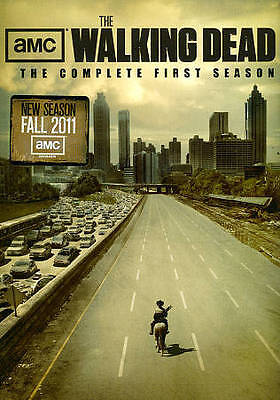Walking Dead:The Complete First Season (2011 2-DVD Set) NEW, FREE 1ST CLASS SHIP