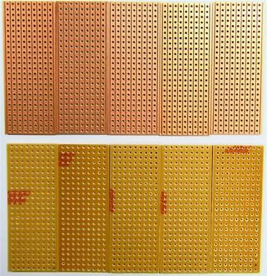 20 x Electronics Prototyping Stripboard Vero 25x64mm 9 Tracks 25 Holes Arduino