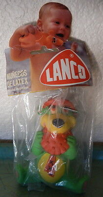 Yogi Bear Eating a Pie Squeeze Toy in Package by Lanco NRFP