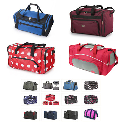 Holdall Flight Cabin Travel Hand Carry On Luggage Bag Gym Sports Unisex Duffle