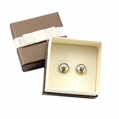 Cairn Terrier. Pet in your ear. Earrings with box. Photojewelry. Handmade. CA