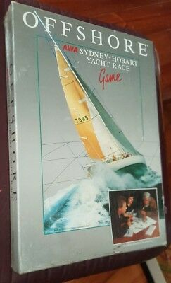 1980s Sydney to Hobart Yacht Race Game - Sealed
