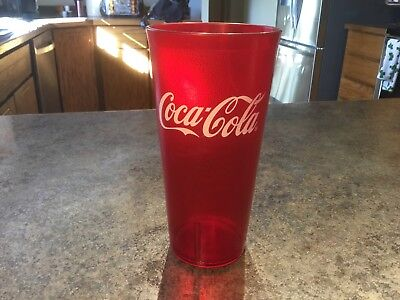 Red Coca-Cola  Restaurant Textured 24oz Plastic Tumbler  G E.T. 29 available