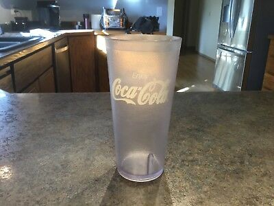 Clear Coca-Cola  Restaurant Textured 24oz Plastic Tumbler  G E.T. 13 available