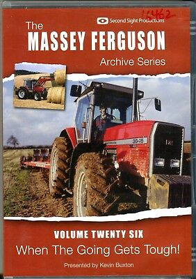 Massey Ferguson Archive Series Vol. 26 DVD, 'When the Going Gets Tough'