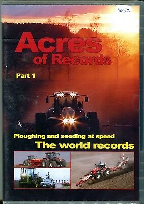 Acres of Records Part 1 Ploughing and Seeding at Speed DVD
