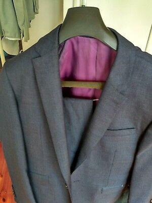 "T.M Lewin Full Suit Length 30"" x Width 20"" with Trousers"