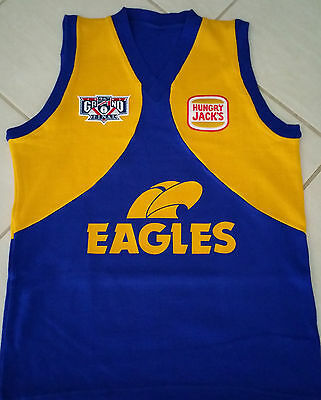 1992 Replica West Coast Eagles Premiership Jumper Only 100 Made
