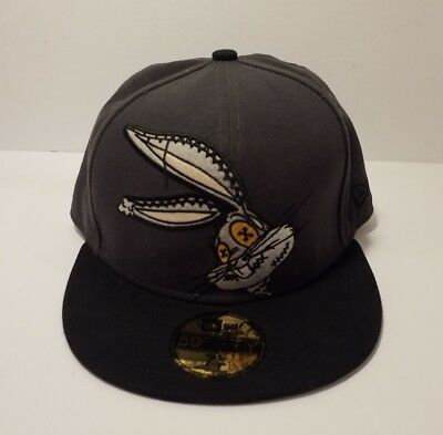 59 Fifty Bugs Bunny Gray Hat - Size 7 1/8 - New