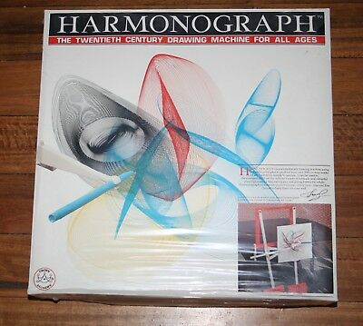 Harmonograph 20th Century Drawing Game Boxed Unused