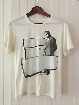 Rare Vintage Phil Collins No Jacket Required Band T Shirt 1985 Australian Tour
