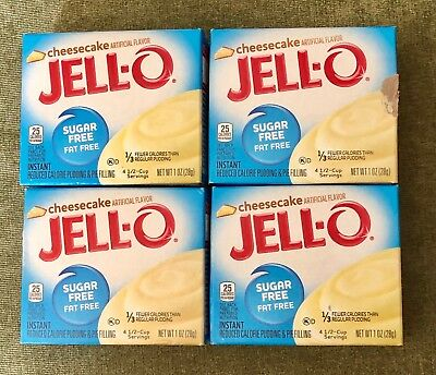 Jello Cheesecake Sugar Free Fat Free Pudding + 2 WW Recipes! Exp.12/24/2019 L@@K