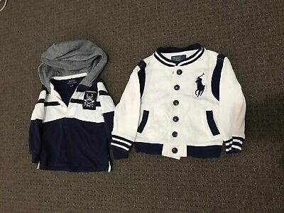 Boys Ralph Lauren Jacket And Hooded Pullover Size 1