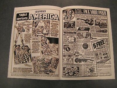 Facsimile reprint covers only to GOLDEN AGE CAPTAIN AMERICA #1 (AND BUCKY)