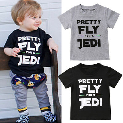 Toddler Kid Baby Boys Cotton Short Sleeve Tops T-shirt Tee Shirt Casual Clothes