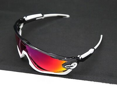 38dfbd76224 New Custom Oakley Jawbreaker Black Ink Frame Matte White Jaw Tdf Prizm Road  Lens