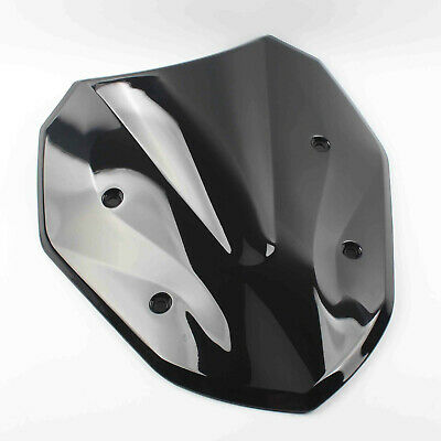 Motorcycle Windshield for BMW S1000XR 2015 2016 2017 Black