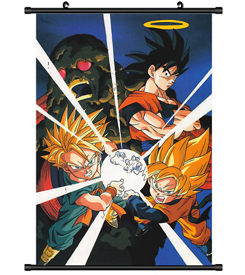 B4447 Dragon Ball anime manga Wallscroll Stoffposter 25x35cm
