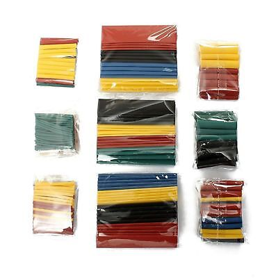 328 pc 2:1 Cable Heat Shrink Tubing Tube Sleeve Wrap Wire Assortment 8 Size Sale