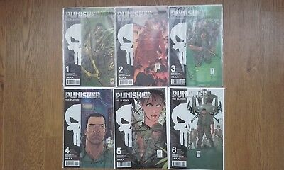 Punisher The Platoon Marvel Max Complete 6 issue Series Garth Ennis Nr Mint Set