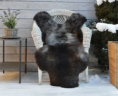 Luxury Sheepskin Rug, Throw, Blanket, Very Rare Breed Multicolour - Size XL