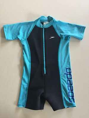 Speedo Wetsuit For Kids Toddlers Size 4