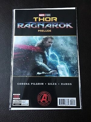 Marvels Thor Ragnarok Prelude #3 (Of 4) (2017) 1St Printing Bagged & Boarded