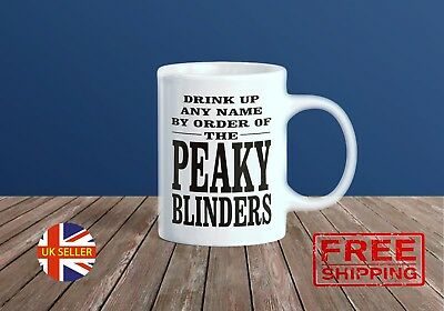 Personalised By Order Peaky Blinders Mug Cup Any Name Text Birthday Gift Present