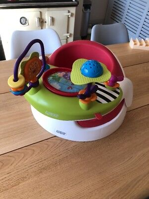 mamas and papas baby snug seat with activity tray