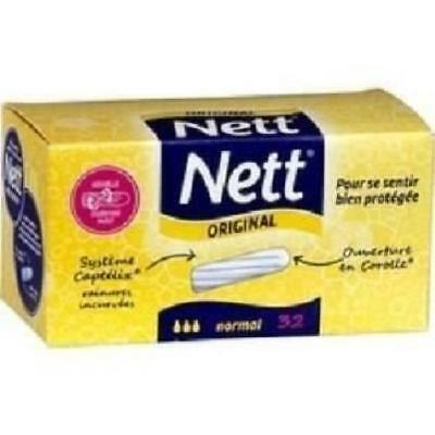NETT Tampons hygiénique - Normal Sans applicateur x32