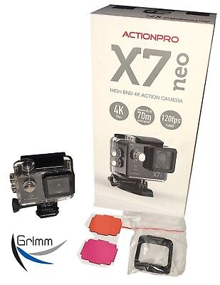 ActionPro X7neo + Tauchfilter Special EDITION ! TOP PREIS ! NEU !