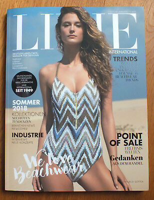Linie International Magazine Lingerie Dessous Beachwear Swimwear Katalog Catalog