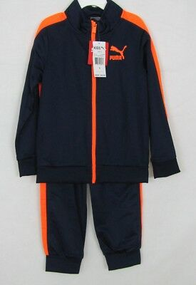 Puma boys 2 piece set jacket and pants size 6 NEW