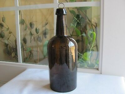 Stoddard Magnum Whiskey Or Utility Bottle Bubbles, Swirls And Whittle !!!