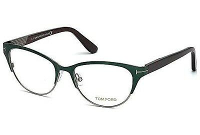 3342a3d207e TOM FORD Eyeglasses tf5318 089 AUTHENTIC FRAMES RX Turquoise 53MM tf 5318  089
