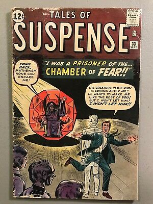 Tales of Suspense 33 Chamber of Fear ~ 1st Hulk Crossover