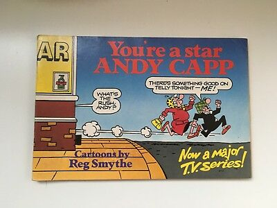 You're A Star Andy Capp  1988 Good Used Condition