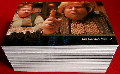 HARRY POTTER - PRISONER OF AZKABAN - COLLECTOR'S UPDATE SET of 90 cards ARTBOX
