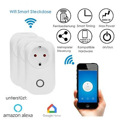 Wifi Smart steckdose SMART+ Plug WLAN Smart Home App Fernbedienung Smart Socket