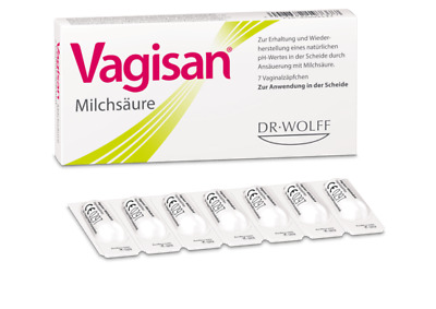 VAGISAN Lactic Acid BV Vaginal Pessaries-Restores Vaginal Flora & PH