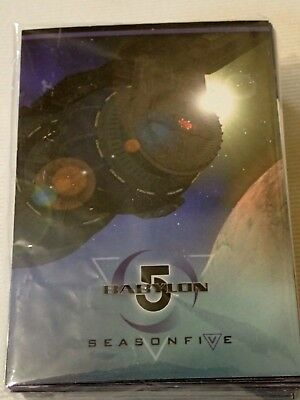 Babylon 5, Tradingcards, Season 5, Complete Basic Set of 81 cards