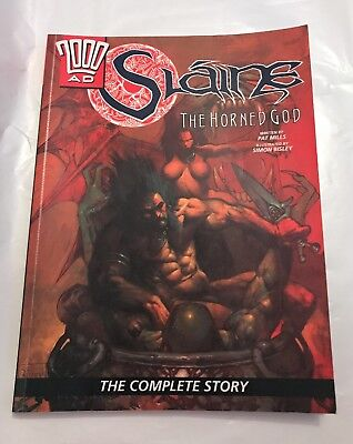 2000 AD Slaine The Horned God Complete Story