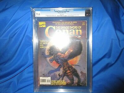 HIGHEST GRADED (1 of 2) THE SAVAGE SWORD OF CONAN 229 CGC 9.6  LOW PRINT ISSUE