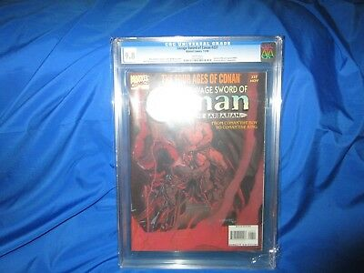 Single Highest Graded!!! The Savage Sword Of Conan 227 Cgc 9.8  Low Print Issue