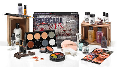 Mehron SPECIAL FX Effects NEW PRO ALL-PRO COMPLETE MAKEUP KIT SET Free Shipping