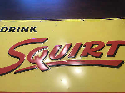 1947 Squirt Soda Sign!