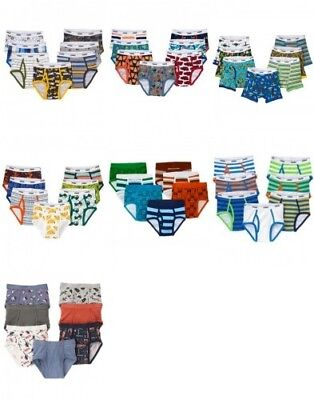 NWT Gymboree Boys Briefs Seven Pack Underwear Size 2T-3T  4 5-6  7-8 10-12