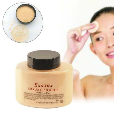 1.5oz/42g Banana Powder Naked Makeup Base Face Cosmetic Loose Powder Foundation