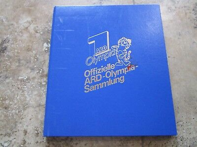 Germany Official Olympics Souvenir Sheet/Stamp Collection(1948-1988)!!!